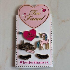TooFaced Better Than Sex Mascara Pins